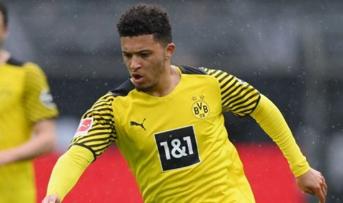 Jadon Sancho absent from England squad for Euro 2020 opener vs Croatia