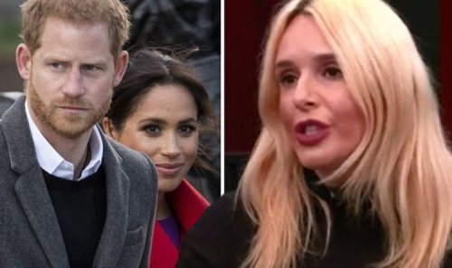 'Don't invite me back!' GB News guest hits out after being scolded in Harry and Meghan row