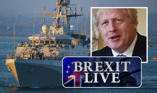 Brexit LIVE: Victory! Boris rejoices as 'swift' Navy action thwarts French fishing threat