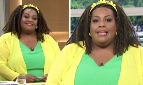 This Morning's Alison Hammond leaves viewers distracted by appearance