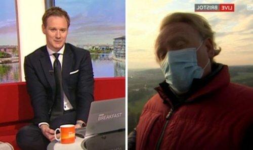 Dan Walker warns BBC Breakfast reporter to 'stop talking' as they 'ruin' segment
