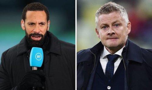 Rio Ferdinand aims transfer warning to Ole Gunnar Solskjaer on Man Utd £34.3m target