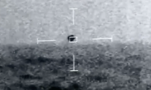 'Spherical' UFO splashes into ocean in front of US Naval troops in leaked video