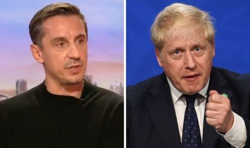 Gary Neville takes 'pop back' at Boris Johnson as he discusses career in politics