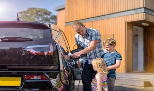 RAC and British Gas offering at home electric vehicle charging point