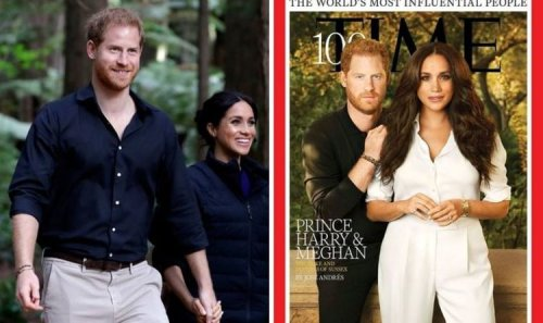 Prince Harry's 'luscious locks' on Time cover joked about: 'Looks airbrushed!'