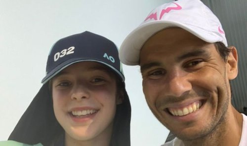 Rafael Nadal meets Australian Open ballgirl's family after 'scariest moment' of his career
