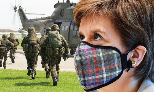 Nicola Sturgeon shamed for slapping brave British soldiers with crippling £850 tax hikes
