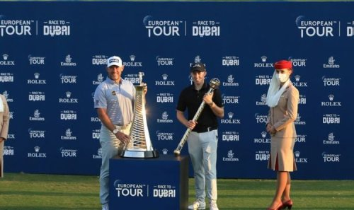 Race to Dubai standings with a month to go and how much they stand to win