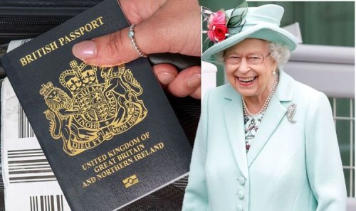 Queen Elizabeth enjoys exclusive passport perk which younger royals do not