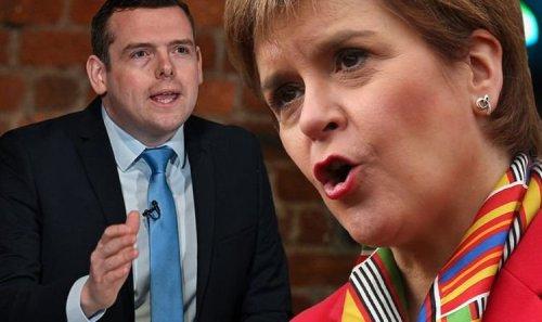 Prove SNP wrong! Scottish voters urged to thwart Nicola Sturgeon's plot to 'wreck' economy