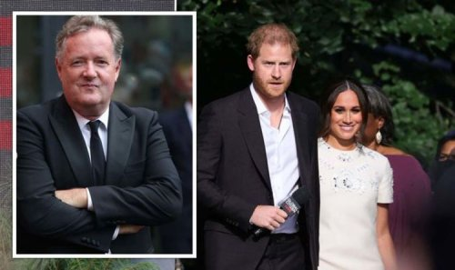 Meghan and Harry 'gleefully milking royal titles' despite leaving Firm - Piers in new rant