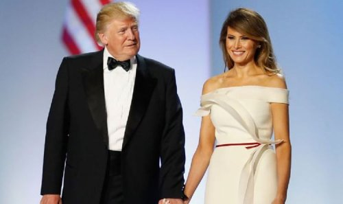 'Divorce? What divorce?!' Melania Trump snapped sharing intimate meal with hubby Don