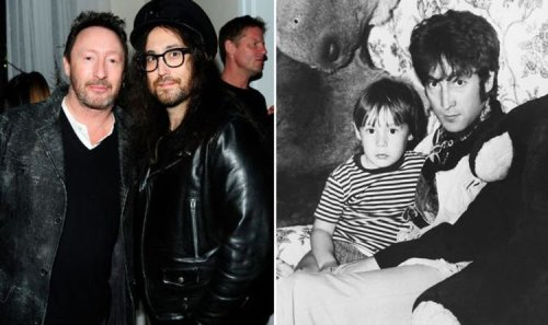 John Lennon sons Julian and Sean pay tribute to their dad with touching Father's Day snaps