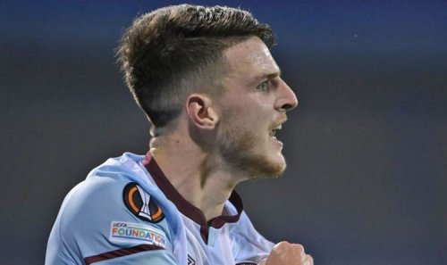 Manchester United players 'want Declan Rice to come' as private transfer talks surface