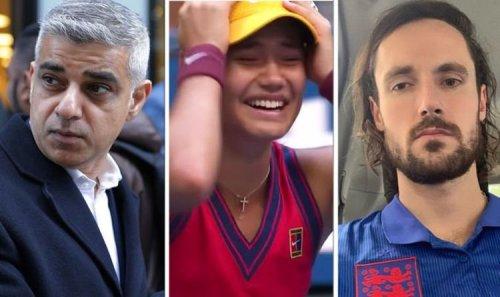 'Bore off' Piers Morgan's son Spencer reacts to Sadiq Khan's praise of Emma Raducanu