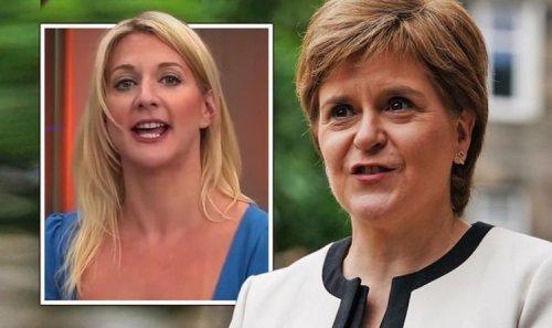 'McNonsense!' Nicola Sturgeon mocked by GB News host over SNP's new 'pronoun' plan