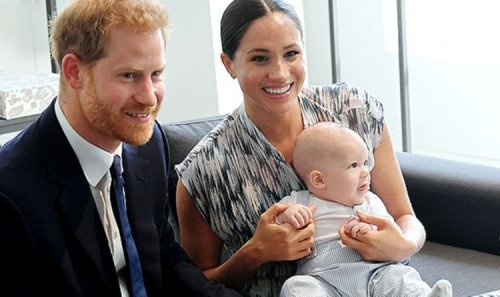 Archie 'will never become a prince' in latest blow to Harry and Meghan Markle after Megxit