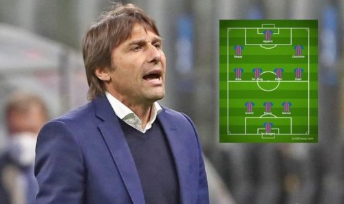 Barcelona's revamped XI if Antonio Conte replaces Ronald Koeman as manager
