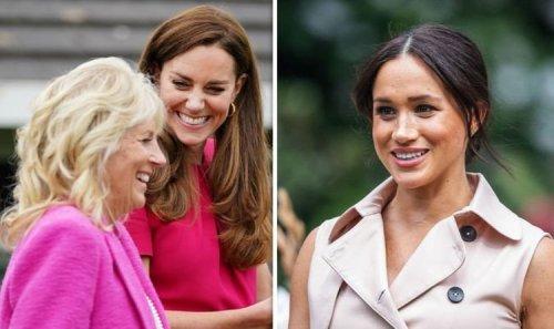 Kate criticised over Jill Biden bond: 'Just as political as Meghan Markle!'