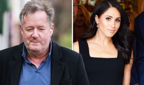 'We've all done things we regret on live TV' Piers talks storming off amid Meghan debacle
