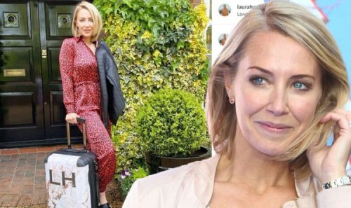 A Place In The Sun RETURNS: Laura Hamilton very grateful as she's seen jetting off to film