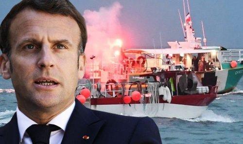 UK fury as Macron orders 'maximum pressure' on Britain - 'Lack of respect!'