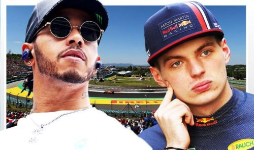 Hungarian Grand Prix LIVE: Lewis Hamilton leads but race is suspended