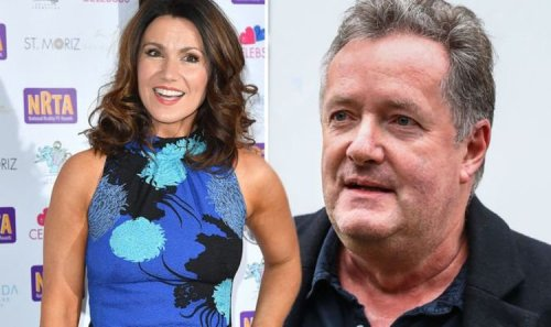 Susanna Reid references ex co-star Piers Morgan as she scoops award for ITV's GMB
