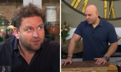 'This is the best dish I've ever eaten' James Martin stuns chef in Saturday Morning first