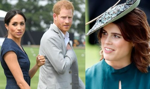Eugenie makes rare appearance in subtle show of solidarity to Harry and Meghan