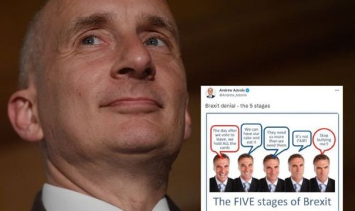 Brexit LIVE: Adonis infuriates Britons by outlining 'five stages of denial'
