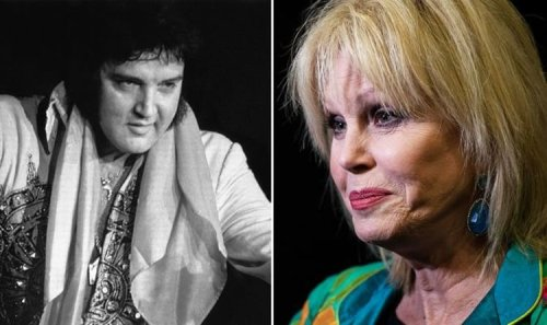 Elvis Presley: Joanna Lumley was 'appalled' by lack of respect for The King when he died