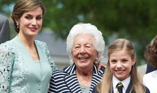 Royal News: Queen Letitzia of Spain mourning the death of her grandmother Menchu