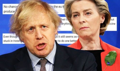 'Rip up the Brexit deal!' Britons furious as EU urges UK to accept massive trade U-turn