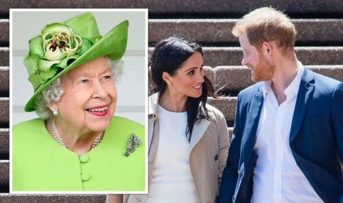 Queen's huge hint to Royal Family that Harry and Meghan set to be forgiven with UK invite