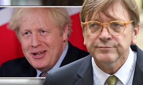'Nothing you can do!' Verhofstadt told Britain will NEVER return to EU despite his pleas