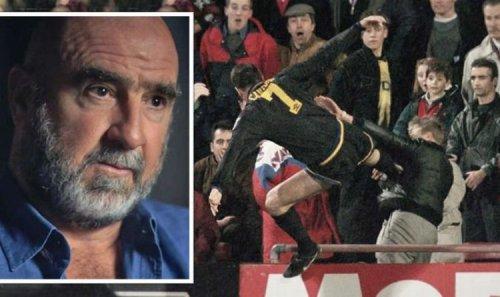 Eric Cantona's 'only regret' is he didn't kick Matthew Simmons more