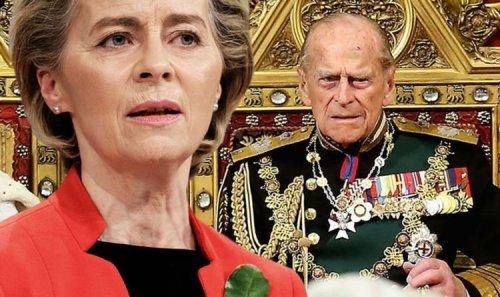 Von der Leyen blunder: EU leader posts incorrect title for Prince Philip in tribute