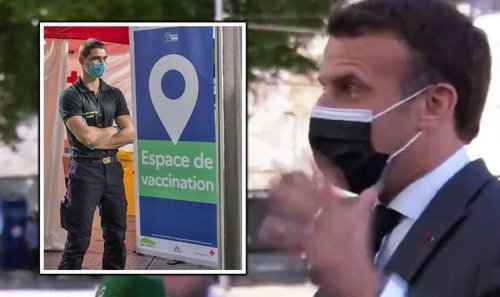 Emmanuel Macron rages at 'Anglo-Saxons blocking vaccines' in explosive rant