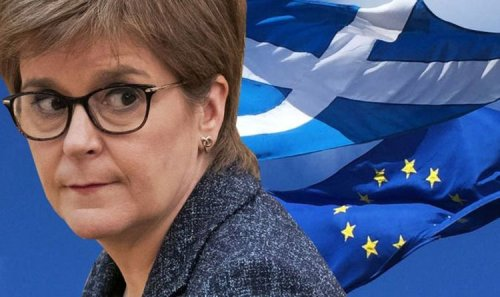 Nicola Sturgeon attacked as SNP spends £1.4K of taxpayers' cash on five NEW European flags