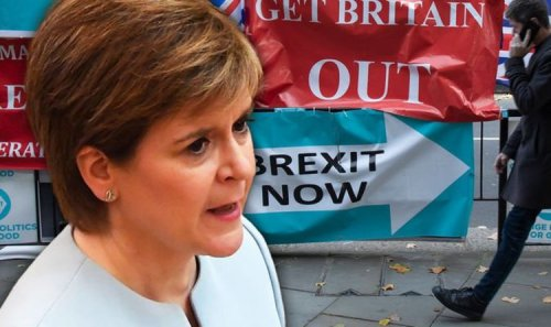 Meddling SNP demands 'urgent new path' in Brexit row - Frost urged to 'explain' himself