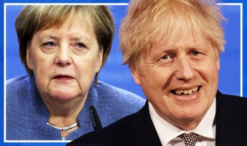'No ally of Brexit Britain!' Boris told Merkel departure will provide HUGE opening for UK
