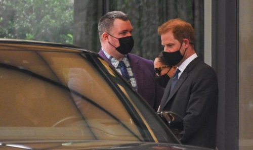 Meghan and Harry called out after using three 'gas-guzzling' SUVs on New York trip