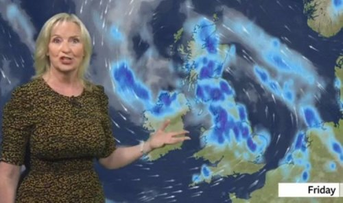 BBC Weather: Warnings in place as torrential rain and wind bring floods by end of week