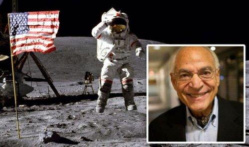 Apollo 11 scientist shows off secret Moon landing photos: 'That's why Neil ran back'