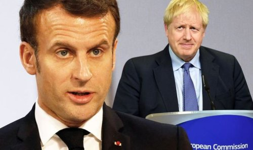 Emmanuel Macron 'lost his temper' with Boris Johnson in 'irate' phone call on Covid rules