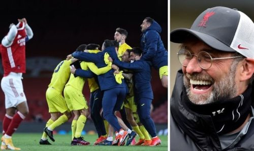 Villarreal help Liverpool avoid potential Champions League disaster with Arsenal triumph