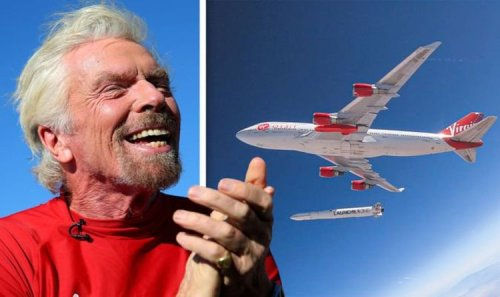 Virgin Orbit: Richard Branson set to launch a rocket from a jumbo jet 'We're so excited'