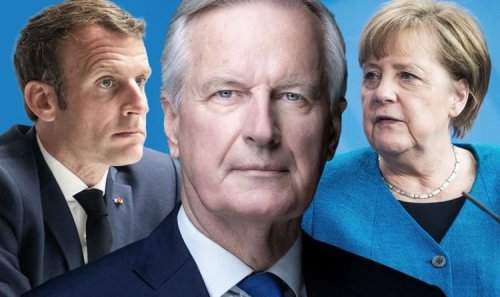What EU wanted! 'Complaining' France and Germany told to blame Barnier over Brexit deal